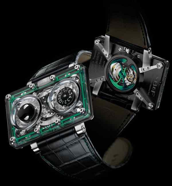 MBF HM2 SV Watch 1 Dez relógios estranhos que eu gostaria de ter
