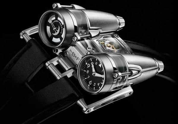 MBandF HM4 Thunderbolt Watch 4 Dez relógios estranhos que eu gostaria de ter