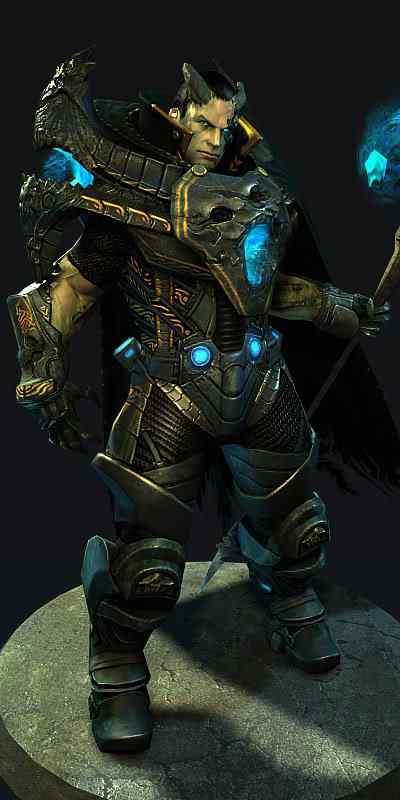 guerreiro229 50 Personagens 3d de cair o queixo