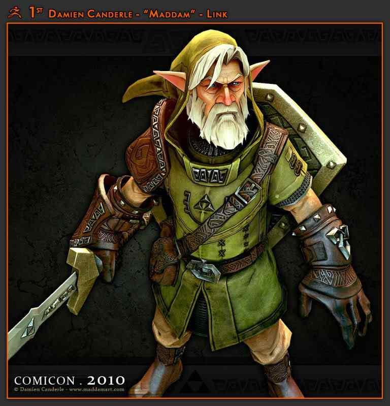 guerreiro230 50 Personagens 3d de cair o queixo
