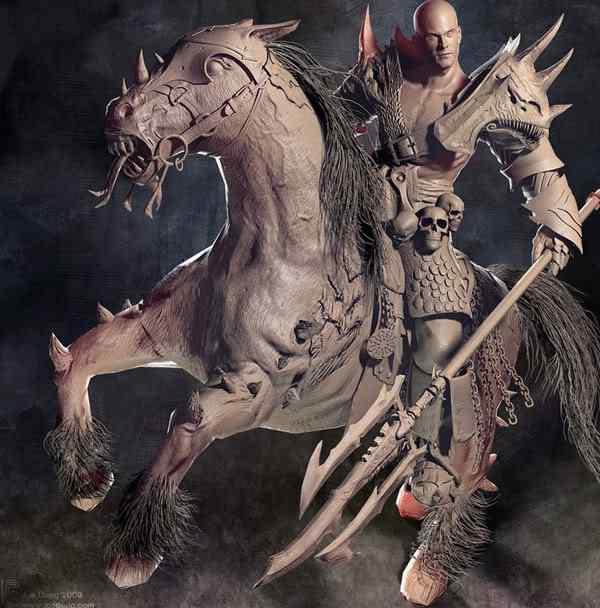 guerreiro239 50 Personagens 3d de cair o queixo