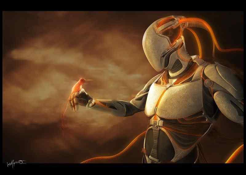 guerreiro25 50 Personagens 3d de cair o queixo