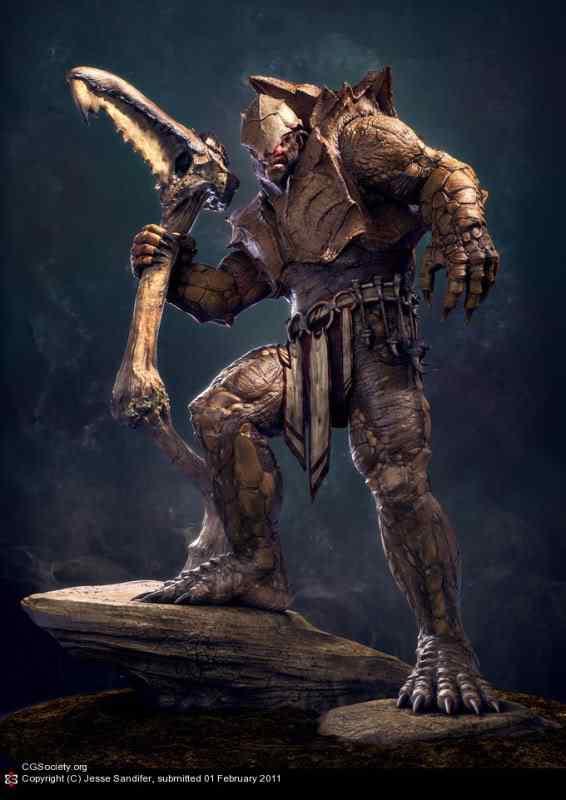 guerreiro28 50 Personagens 3d de cair o queixo