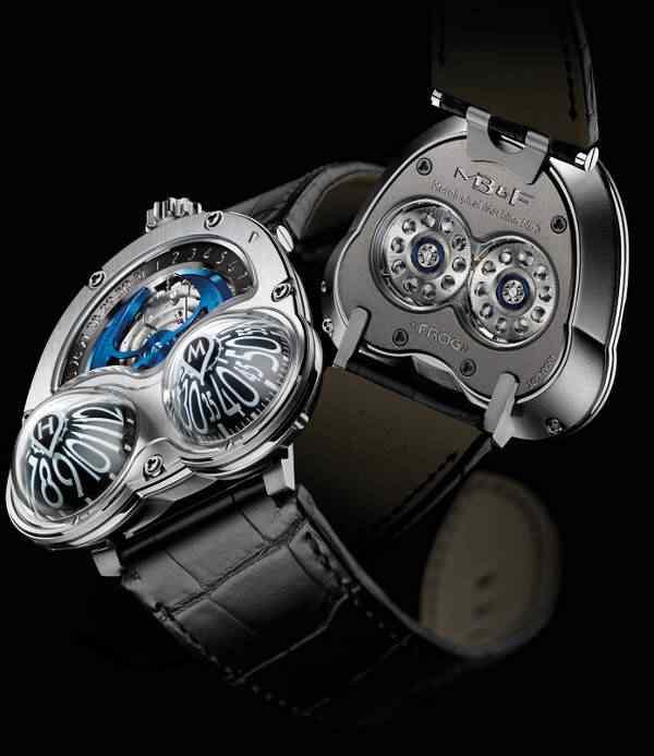 mbandf hm3 frog watch 3 Dez relógios estranhos que eu gostaria de ter