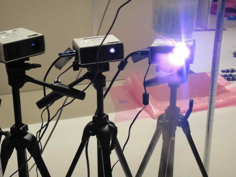 3tripes Projeção 3d multi viewpoint   Estamos finalmente chegando perto do holograma?
