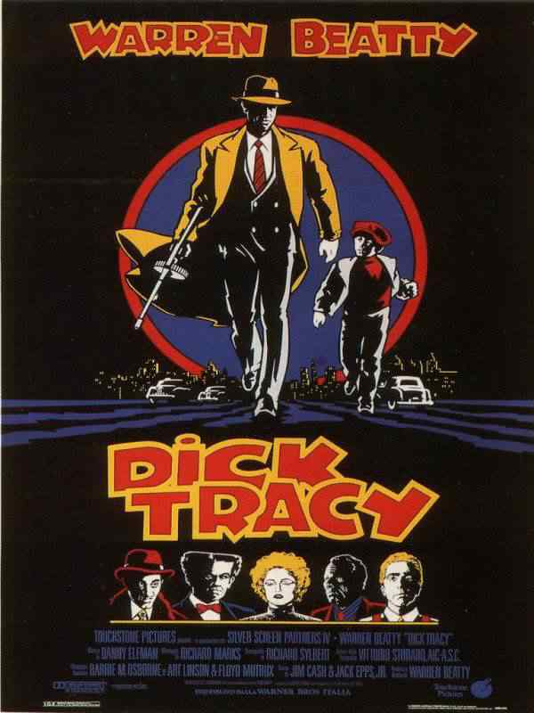 600full dick tracy poster Super lista de filmes baseados em quadrinhos