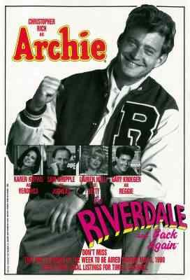 Archie To Riverdale and Back Again Poster Super lista de filmes baseados em quadrinhos
