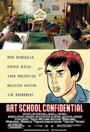 Art school confidential Super lista de filmes baseados em quadrinhos