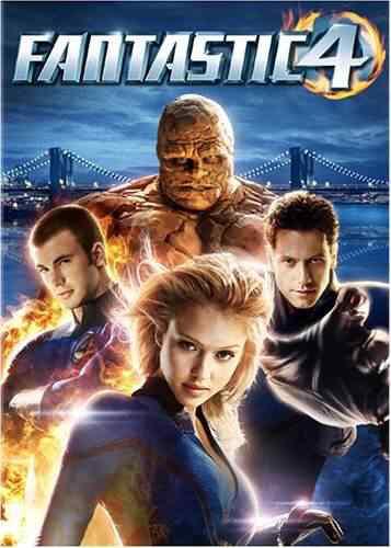 Fantastic Four Super lista de filmes baseados em quadrinhos