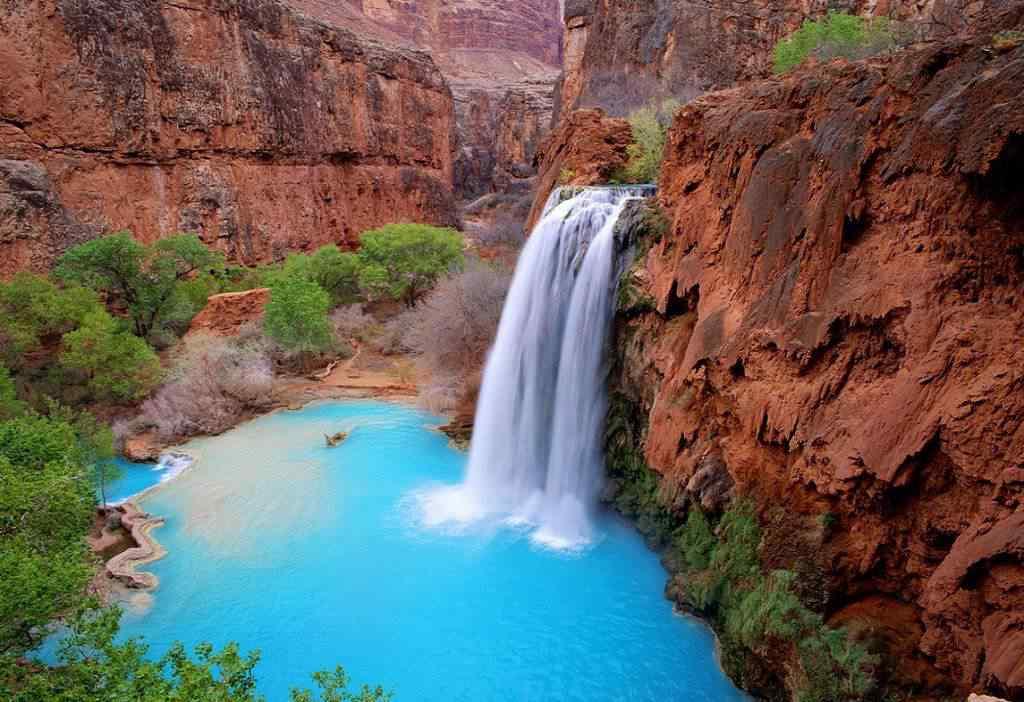 Havasu Falls Arizona2 1024x702 10 lugares Gumps