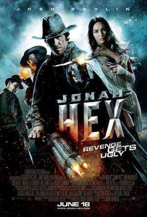 Jonah hex poster Super lista de filmes baseados em quadrinhos