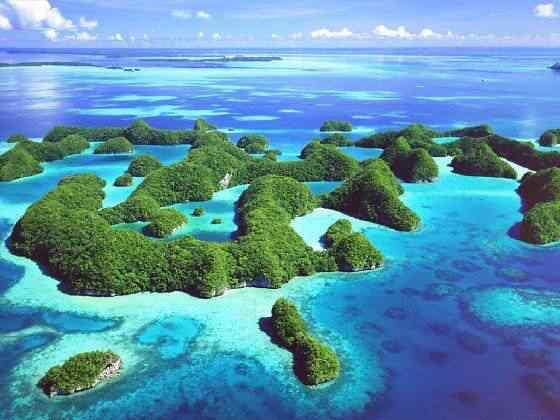 Palau Island T88OM 10 lugares Gumps