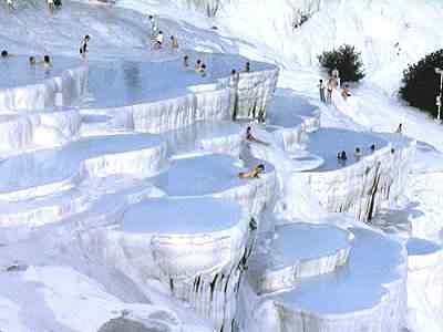 Pamukkale Calcium Terraces 0 10 lugares Gumps