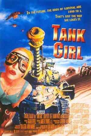 Tank girl poster Super lista de filmes baseados em quadrinhos
