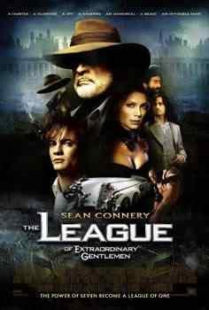The league of Extraordinary Gentlemen movie Super lista de filmes baseados em quadrinhos
