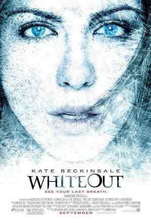 Whiteout poster Super lista de filmes baseados em quadrinhos