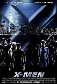 XMen1poster Super lista de filmes baseados em quadrinhos