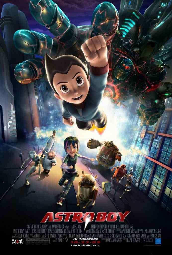astroboy poster 691x1024 Super lista de filmes baseados em quadrinhos