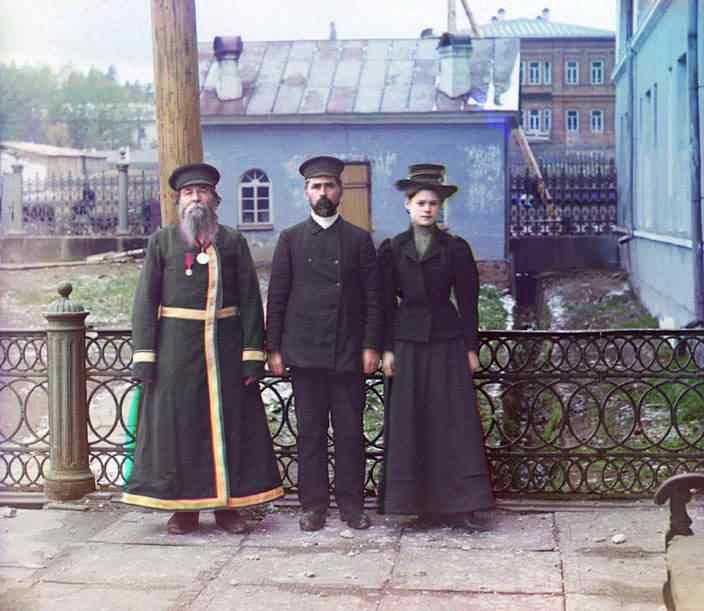 p87 4240 Russia: O mistério das fotos coloridas num tempo em que só havia preto e branco