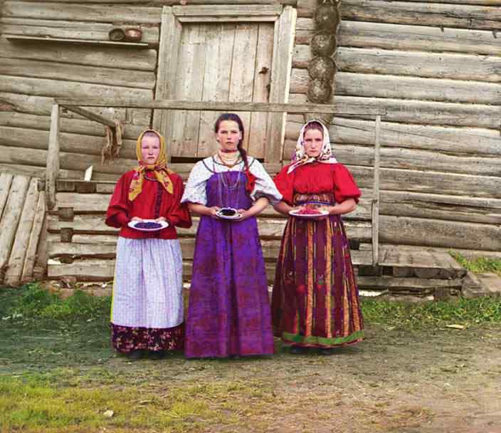 p87 5251 Russia: O mistério das fotos coloridas num tempo em que só havia preto e branco
