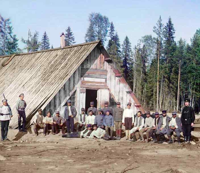 p87 2067  00279  Russia: O mistério das fotos coloridas num tempo em que só havia preto e branco