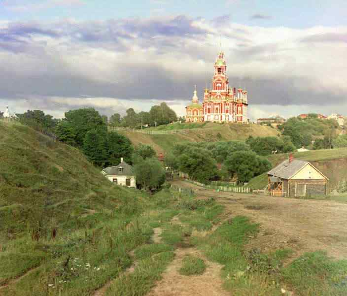 p87 3002  00363  Russia: O mistério das fotos coloridas num tempo em que só havia preto e branco