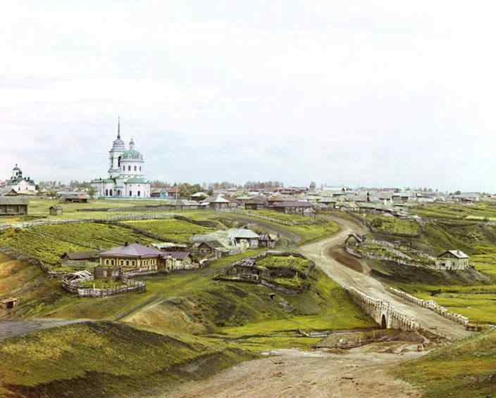 p87 4553  00802  Russia: O mistério das fotos coloridas num tempo em que só havia preto e branco
