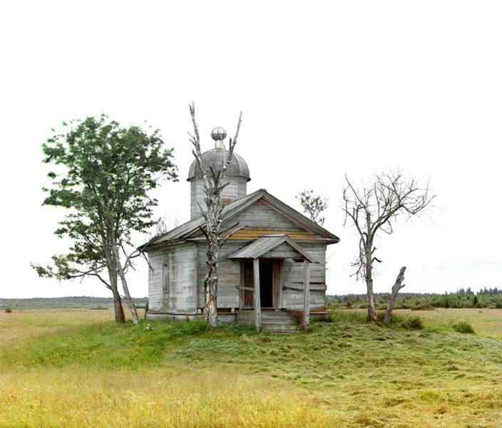 p87 5277  01069  Russia: O mistério das fotos coloridas num tempo em que só havia preto e branco