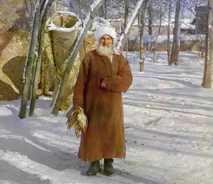 p87 8059a  01848  Russia: O mistério das fotos coloridas num tempo em que só havia preto e branco