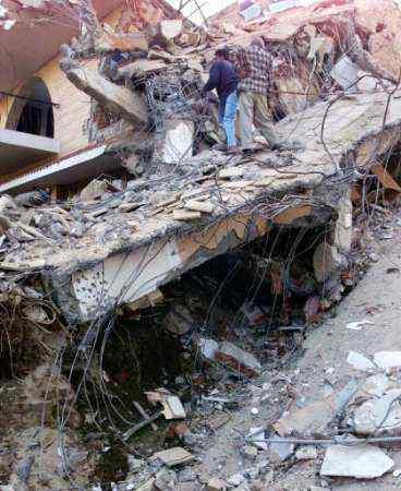 people after earthquake Será apenas mera coincidência?
