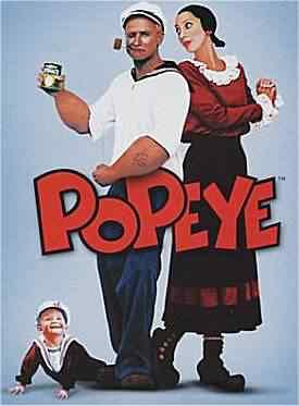 popeye2 Super lista de filmes baseados em quadrinhos