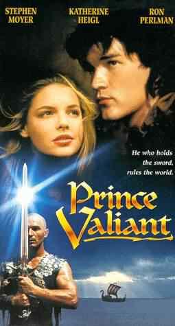 prince valiant1997 Super lista de filmes baseados em quadrinhos