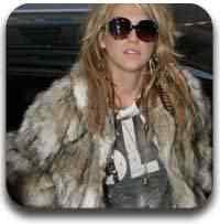 casaco de pele Artigos legais do Mundo Gump