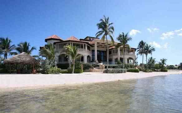 casinha1 A casa mais espetacular do Caribe