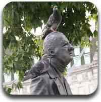 estatuas vivas Artigos legais do Mundo Gump