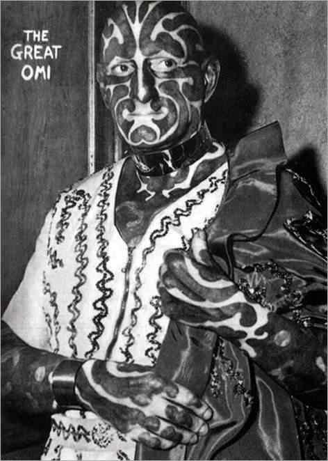 homem zebra Pessoas esquisitas que só queriam ser diferentes