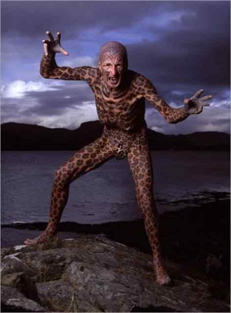 leopardo Pessoas esquisitas que só queriam ser diferentes