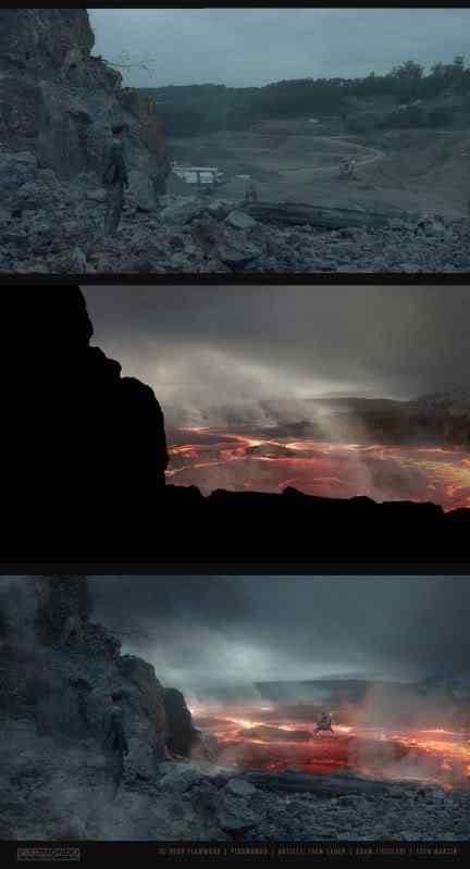 sven sauer vulkan see 170 Matte Paintings de babar