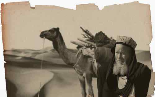 velho uigur low A busca de Kuran   Os primeiros dias no deserto da morte