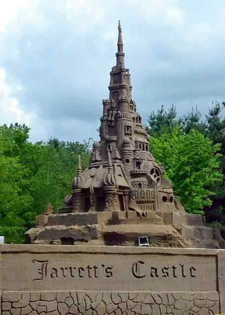 jarretts castle6 O maior castelinho de areia do mundo