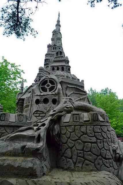 jarretts castle9 O maior castelinho de areia do mundo