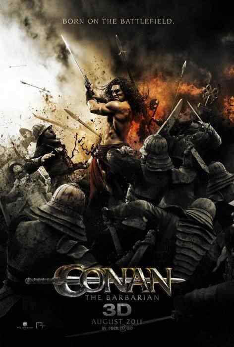 conan2011 poster Conan   A volta da Era Hiboriana na tela grande