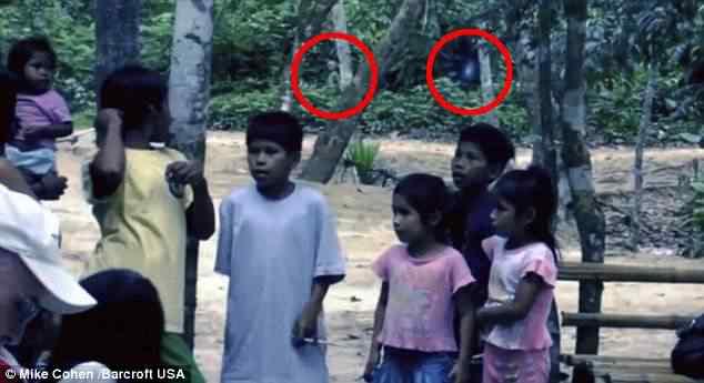 article 2051796 0E7805D600000578 637 634x345 Aliens registrados em video na Amazônia?