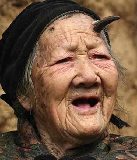 mulher chifre china 1 Os animais com os chifres mais legais do mundo