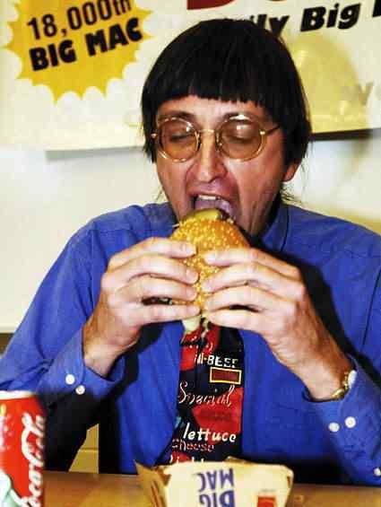 bigmacloverof3 O maior comedor de big mac do mundo