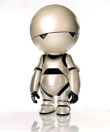1robots gal marvin Os melhores filmes do mundo com robôs