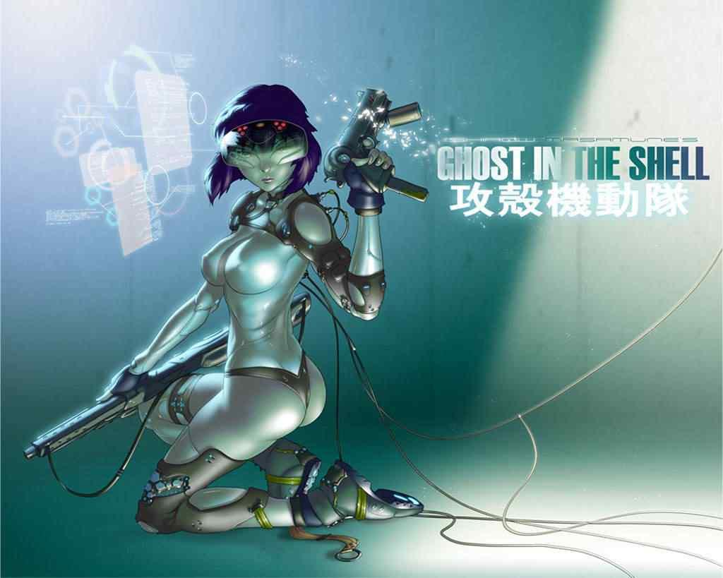 ghost in the shell 000 Os melhores filmes do mundo com robôs