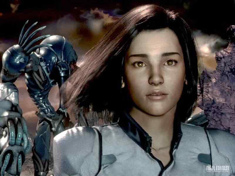 imgfinal fantasy the spirits within5 Os melhores filmes do mundo com robôs