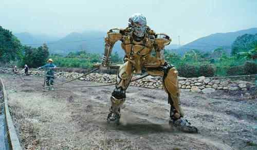 kungfucyborg Os melhores filmes do mundo com robôs