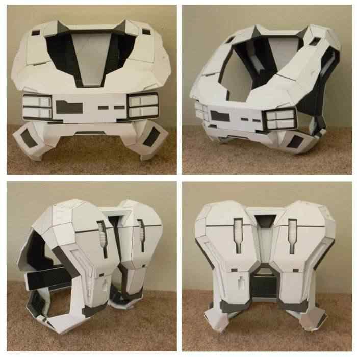 kospley 0025 Como fazer a armadura do HALO